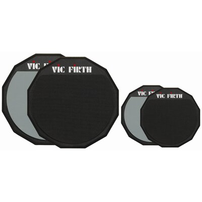 "Vic Firth 12"" Double Sided Drum Practice Pad"