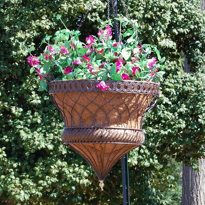 Griffith Creek Designs Victorian Parasol Round Hanging Planter