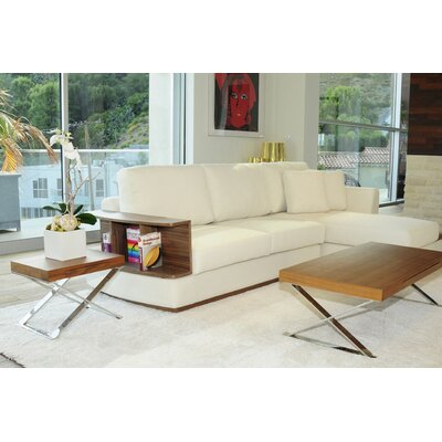 Pangea Home Mason Coffee Table Set