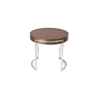 Pangea Home Leah End Table