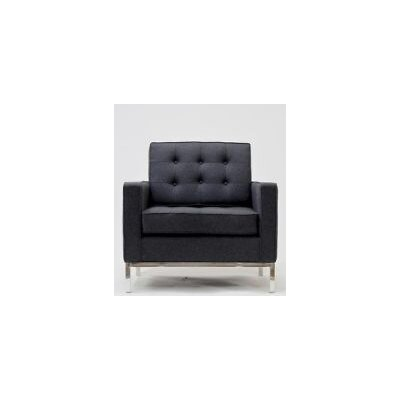 Pangea Home Florence Chair in Charcoal