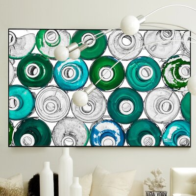 JORDAN CARLYLE Abstract Liquid Life #8 Wall Art