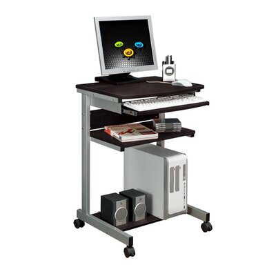 Merax Laptop Computer Desk with Slide Out Keyboard Shelf