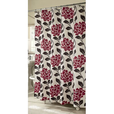 Flora Polyester Shower Curtain