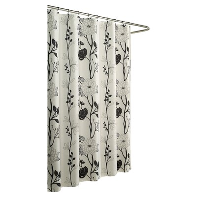 m.style Cassandra Poly Shower Curtain
