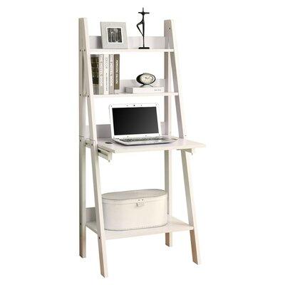 "Monarch Specialties Inc Ladder 61"" Bookcase & Reviews"