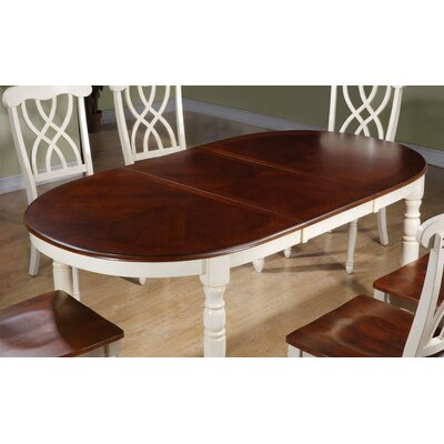 All monarch specialties inc wayfair for Distressed round dining table