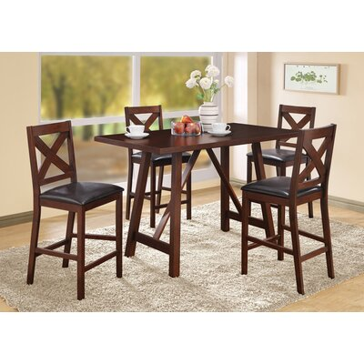 Monarch Specialties Inc. Counter Height Dining Chair (Set of 2)