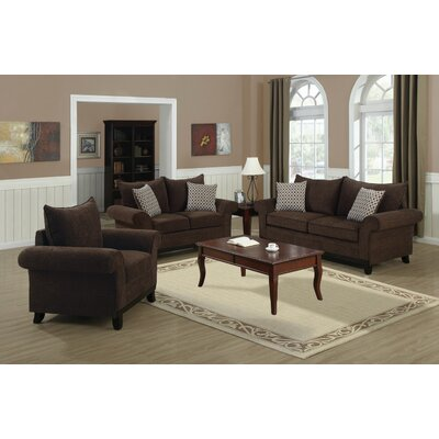 Monarch Specialties Inc. Chenille Loveseat
