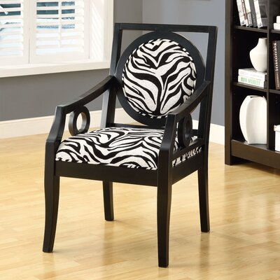 Monarch Specialties Inc. Fabric Arm Chair