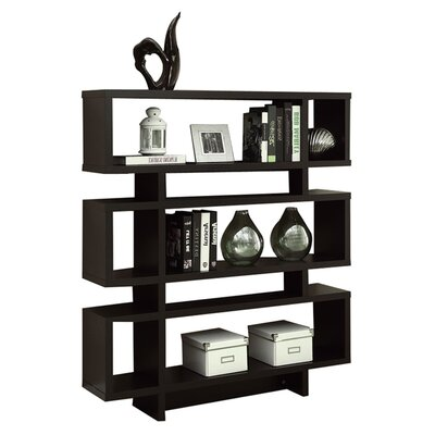 "Monarch Specialties Inc. Thee 54.5"" Bookcase"