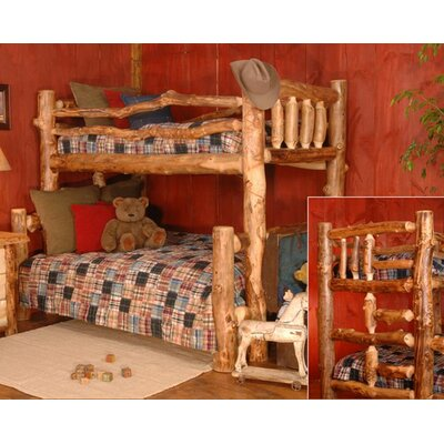 Wildon Home ® Chester Twin Bunk Bed with Ladder This twin bunk bed ...