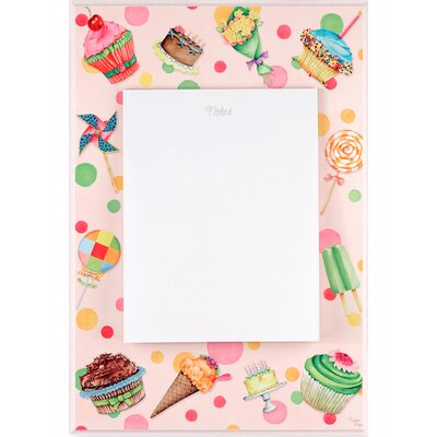 Stupell Industries Cupcake Dog Themed Memo Board