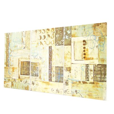 Stupell Industries Aqua Dreams Triptych Wall Art