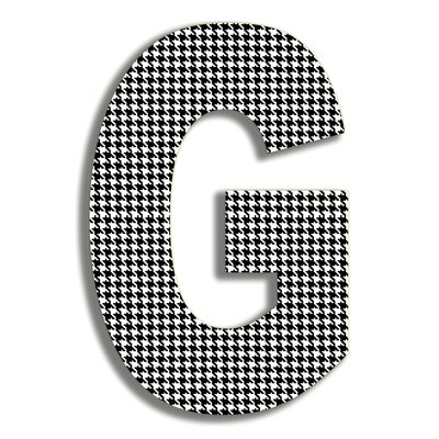 Stupell Industries Oversized Hanging Letter G