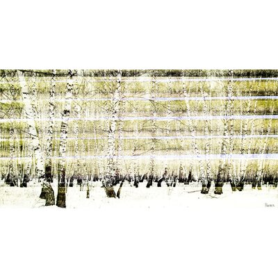 Aspen Forest Painting Print on Canvas