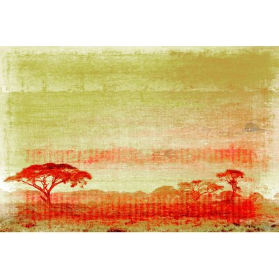 Africa Painting Print on Canvas
