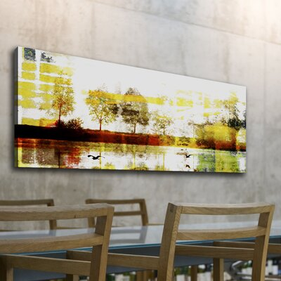 Parvez Taj Biscarrosse Lake by Parvez Taj Graphic Art on Canvas