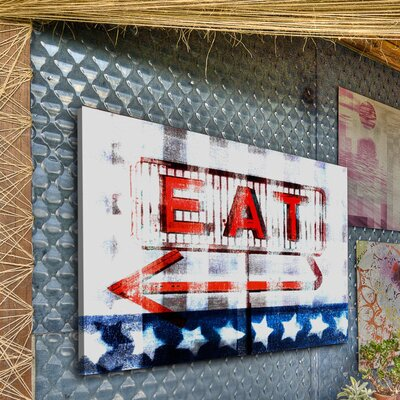 Parvez Taj Eat by Parvez Taj Graphic Art on Canvas