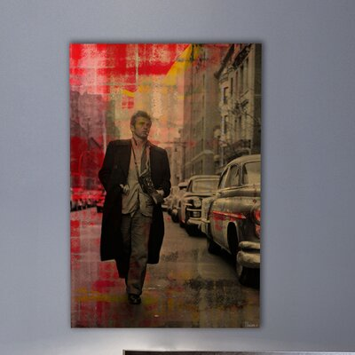Parvez Taj James Dean - 2324 by Parvez Taj Graphic Art on Canvas