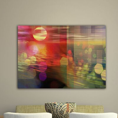 Parvez Taj Sunset by Parvez Taj Graphic Art on Canvas