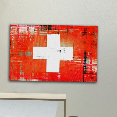 Parvez Taj Swiss by Parvez Taj Graphic Art on Canvas