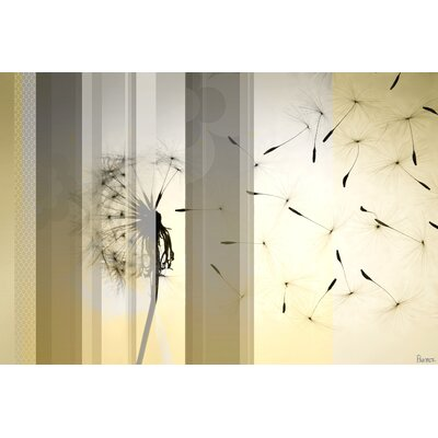 Dandelion by Parvez Taj Graphic Art on Canvas