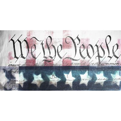 ParvezTaj We the People Canvas Art