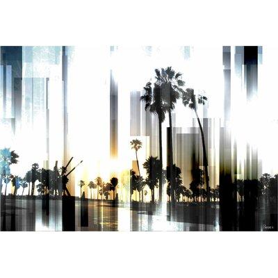 Parvez Taj Ocean Front Graphic Art on Canvas