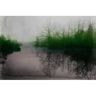 Beetle Lake Graphic Art on Canvas