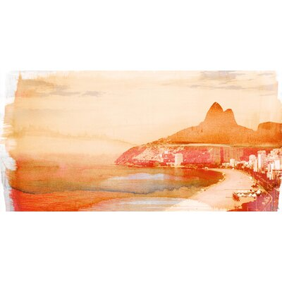 Sugar Loaf Graphic Art on Canvas