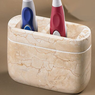 Creative Home Caramel MarbleToothbrush Holder