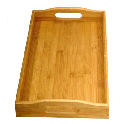 Creative Home Bamboo Rectangular Serving Tray