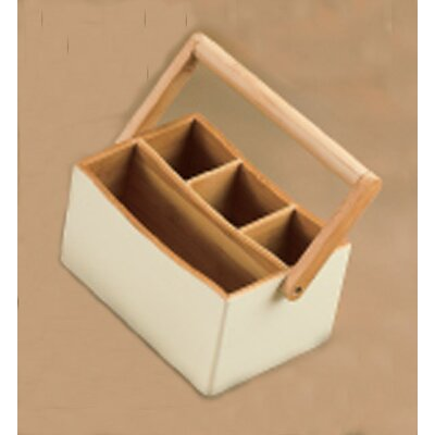 Creative Home Bamboo Utensil Caddy