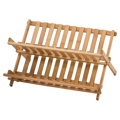 <strong>Creative Home</strong> Bamboo Folding Dish Rack