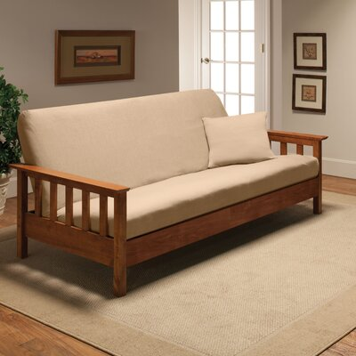 Madison Home Stretch Jersey Full Futon Cover in Linen