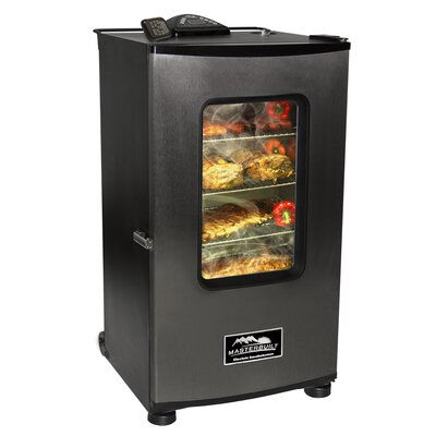 Electric Digital Smokehouse and RF Remote with Cover