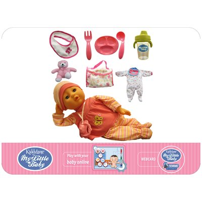 "Kiddy Lane 14"" My Little Baby - Deluxe Set (Soft Stuffed Doll)"