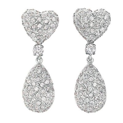 Rozzato Double Heart Earrings