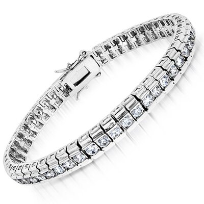 CZ Collections Rolex Cubic Zirconia Bracelet