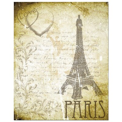 Love Paris Art Print