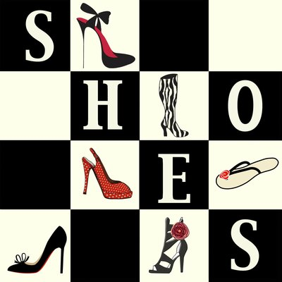 Shoes Shoes Shoes Wall Art Print