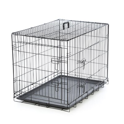 <strong>Timeless Crates</strong> Foldable 2 Door Pet Crate