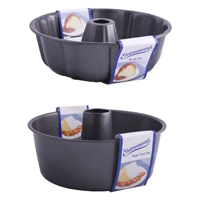 Entenmann's Bakeware Classic Bundtform and Angel Cake Set