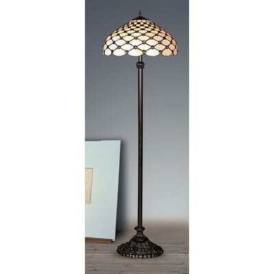 Warehouse of Tiffany Jewel Floor Lamp