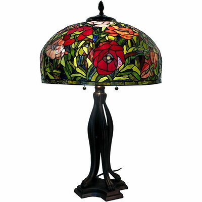Warehouse of Tiffany Rose Table Lamp