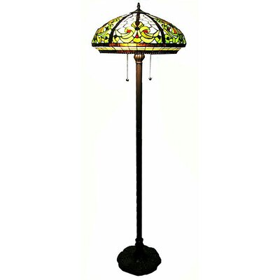 Warehouse of Tiffany Classic Floor Lamp