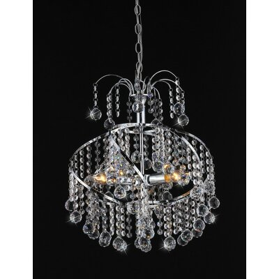 Helen 4 Light Crystal Chandelier