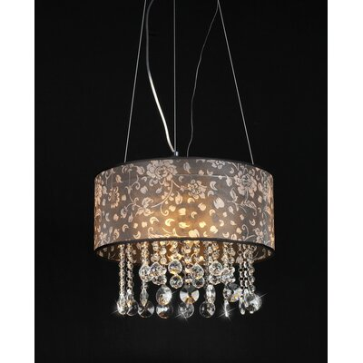 Claire 4 Light Crystal Chandelier