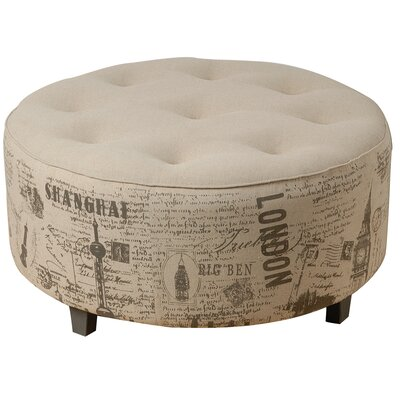 A&B Home Group, Inc Cotton Ottoman